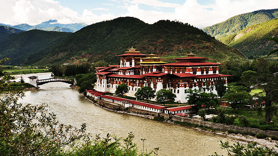 ��������� (��������) �������-����� (Punakha Dzong)