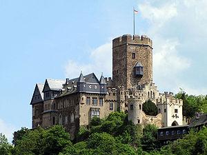 Замок Ланэк (Burg Lahneck)